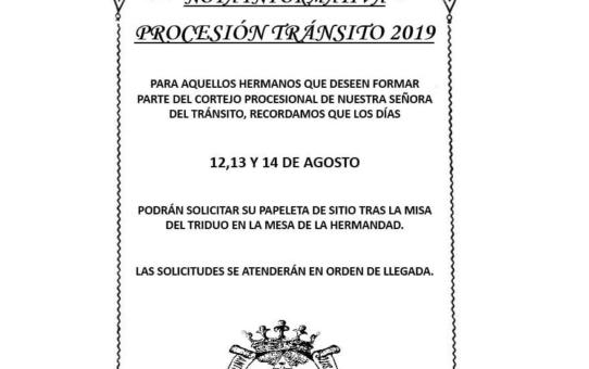 CORTEJO 2019